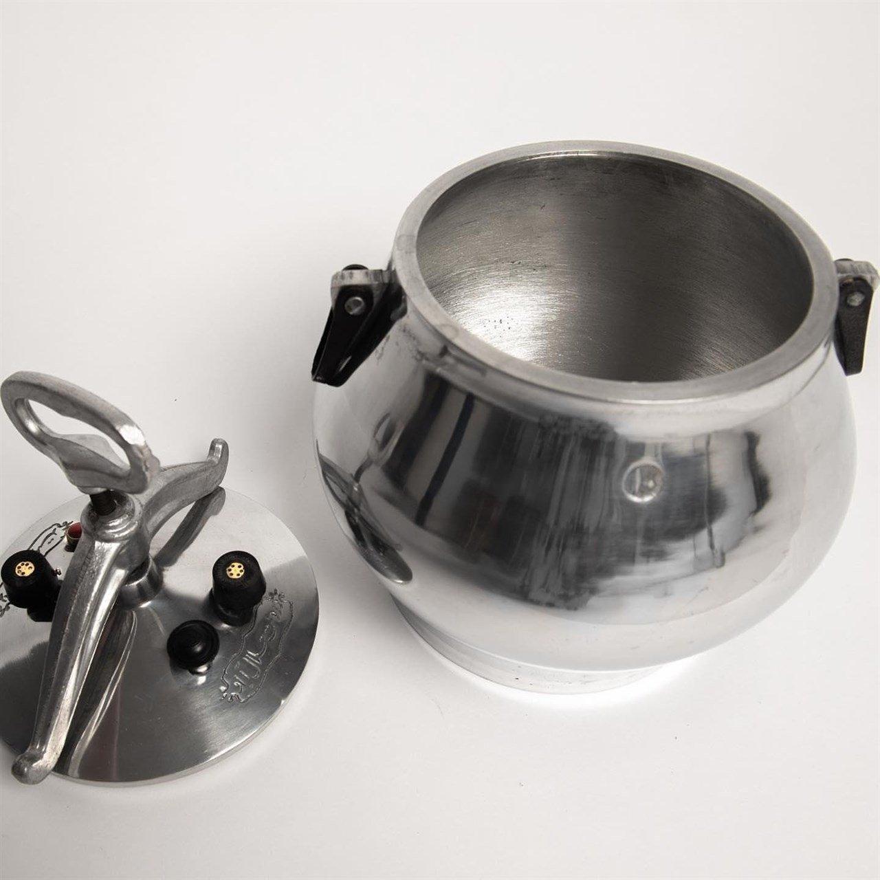 Afghan Kazan (Pressure Cooker) Nickel-Plated