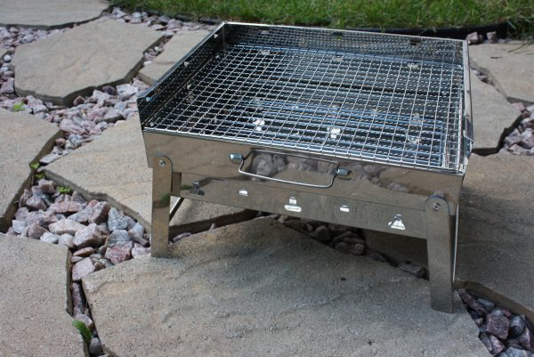 Compact Briefcase Grill